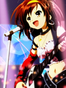 <b>Here's one of Haruhi-chan! hope آپ like it!</b>