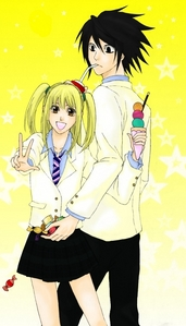 L and Misa from Death Note. And yeah, its a پرستار pairing. but i hope it works anyway <3
