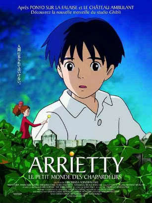 The ultimate answer..... not really, I just wanted to post her. Arrietty she is the tiny girl in red.