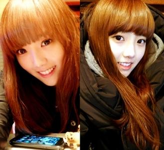 Didn't she look like SNSD Jessica!! oh and she is Shin YoonJo!!