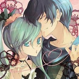 Miku x Kaito!!!! I love this couple! ^w^