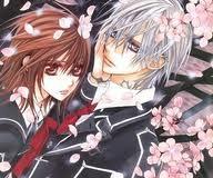 Zero and Yuuki from Vampire Knight!!!!