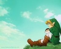 I feel like me and Link just went through hell and we finally defeated evil. Basically the feel of achievement.