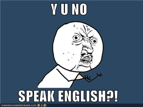 ENGLISH SHINOYAP, ENGLISH!