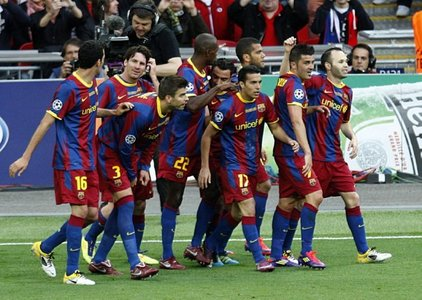 BARCELONA any day!!!!!!!...They r like the real champions :)....♥♥♥BARCA♥♥♥........