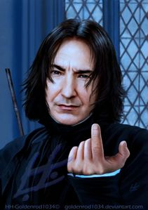 Mine is Severus Tobias Snape. Always have and always will be my favourite character i ntthe films.