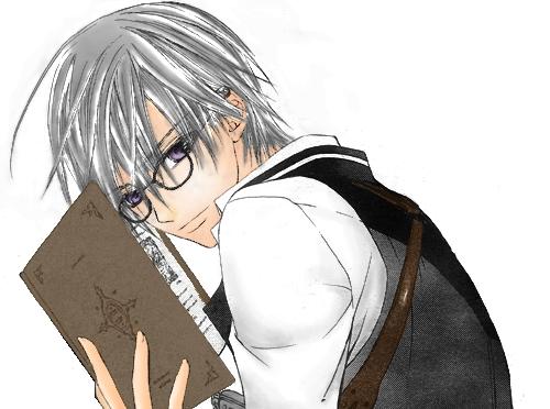 Zero Kiryu with glasses!