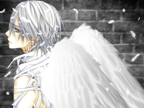 Zero Kiryuu.......... *sigh* from Vampire Knight. He is such an angel. WAHHHH! so cool! ^-^
