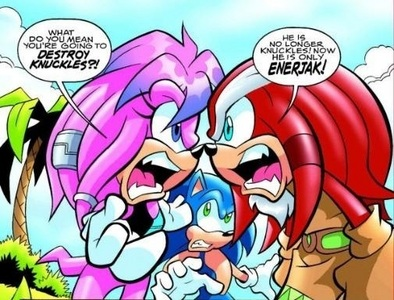 """Julie-Su Echidna. ""I don't think she's cute অথবা sexy (That's not a good thing comming from a chick) But Julie is probably the best Mobian chick I've seen- ever! that and she's perfect for Knuckles. Screw KnucklesxRouge- Julie's for Knux!"""