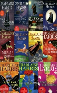 The True Blood series by Charlaine Harris.