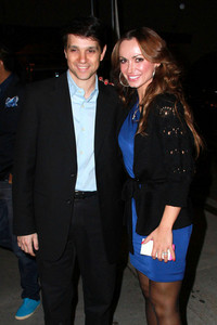 Ralph Macchio. (: Here he is with his dancing partner on the last season of Dancing With The Stars. I absolutely upendo him. And Karina too. (: