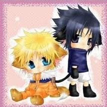 <b>I love both!>.< but since I have to with one..Naruto wins this سے طرف کی a bit</b>