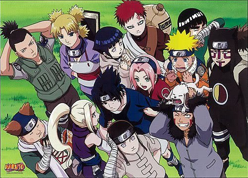 naruto!!! <3 unfortunately i've never watched bleach that's why ~NARUTO~