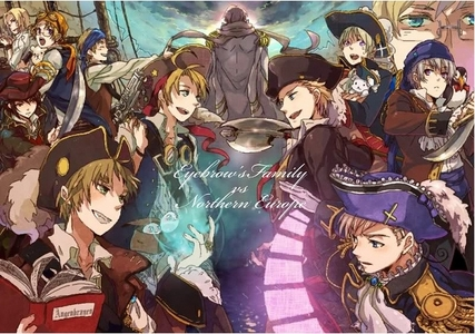Just adding to everything else above: Hetalia! Pirate style!