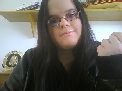 This was taken in early August, when i had black hair C: