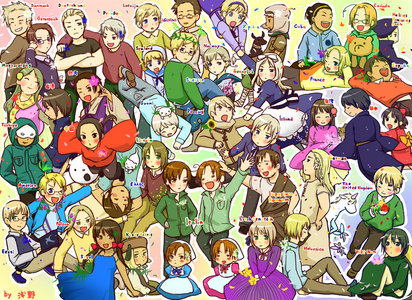 Hetalia ^.^ *has been watching it constantly since I bought the DVDs*