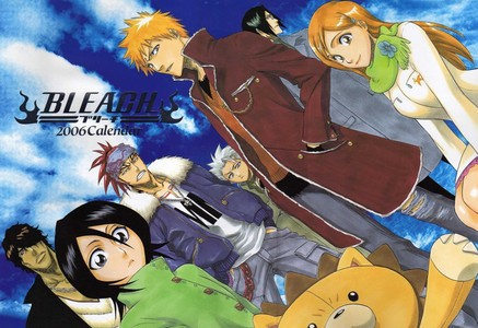 BLEACH!!!! BLEACH!!!!!!!! BLEACH!!!!!!!!!!! I like Naruto, but Bleach is really better than it. <3