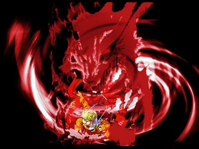 hmmm hard سوال i say naruto! I have a video game of him thats fun. And i love the nine tail fox!