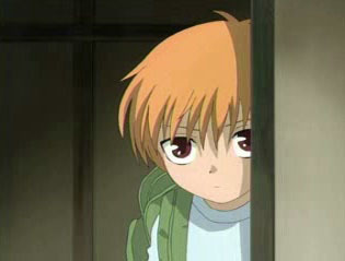 little Kyo from Fruits Baskets