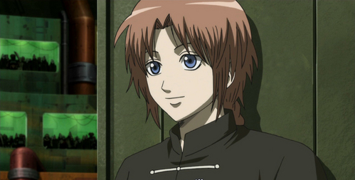 The anime i cinta is gintama and my favorit character is kamui <3 <3