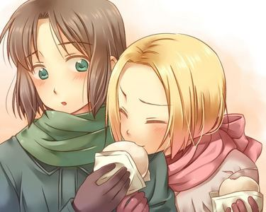 My favorit anime is Hetalia. favorit characters at the moment are Poland and Lithuania.
