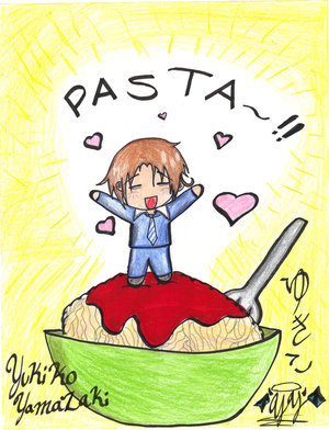I have a deal....You take the pasta.....I'll take the boy!