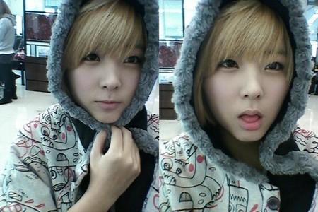 Cute? Here comes maknae Sohyun ~ x3