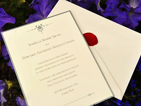 Yes It Is Edward Anthony Masen Cullen It Says In Breaking Dawn The Wedding Invitation