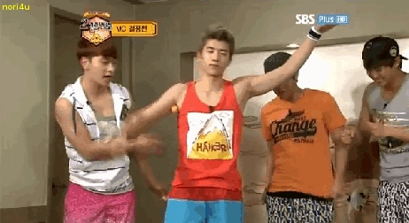 jang wooyoung...he always make other members happines.