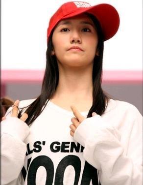 Yoona looks so cute here