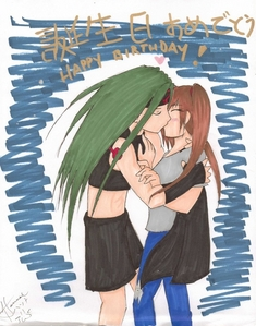 Yup, I kissed a Humonculi and I liked it, I hope Pipsqueak don't mind it. B)