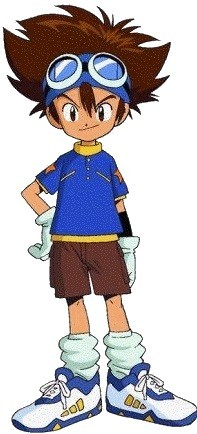 My favorit anime is Digimon. Tai Kamiya is my favorit character.
