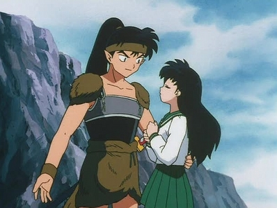 "my episode37 ""The Man Who Fell In Amore With Kagome"" and all the other Koga episodes XD"