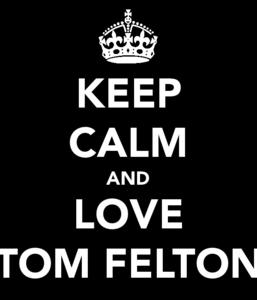 because I amor TOM FELTON <3