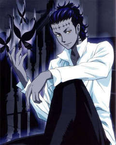 I usually say Fate/Stay Night but i'mma mix it up for once. D.Gray-Man. Mmm, Tyki Mikk