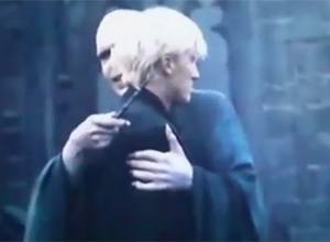 Because the scene where Voldy hugs Draco is one of the funniest scenes in the entire series, as well as the most awkward. So that is why I chose it as my icon.