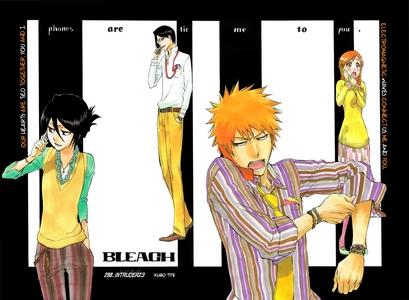 Tie between 1 & 2: IchiRuki (Ichigo x Rukia) and IshiHime (Ishida x Orihime) 3: Renji x Jackie 4: Shunsui x Nanao 5: Gin x Rangiku
