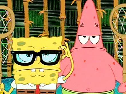 Spongebob&Beavis and butt-head!!!!!!!!
