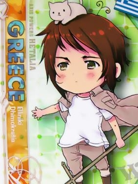 Greece from Hetalia Axis Powers