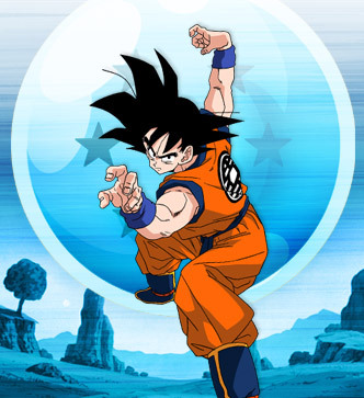 it always was and it always will be Goku, from Dragonball :D