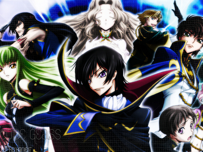 favourite Anime would be code geass!~
