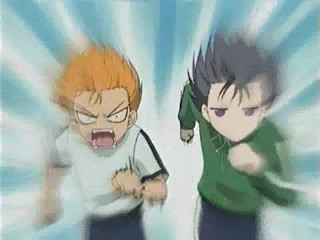 Fruits Basket Kyo And Yuki Fighting Anime with a funny riv...