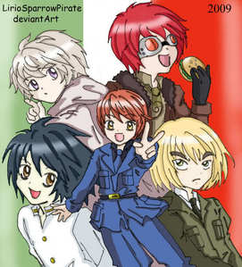 because hetalia and death note are amazing!