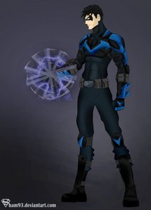 Nightwing aka Older Robin :D (btw i got this pic from devianart from sham93 she draws amazing)