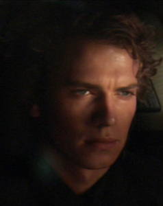 My pick: Anakin is on his way to becoming Darth Vader here, past the point of no return.