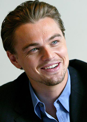 Leo DiCaprio. I don't really find him hot, but he's sure a great actor who makes great choices. He's very intelligent, and I do really appreciate it in a man.