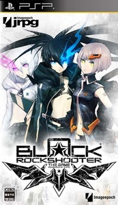 I've played the Black Rock Shooter video game, the Bakugan Battle Brawlers video game, and I plan to get the Puella Magi Madoka Magica video game when it comes out. Below is the BRS game cover.