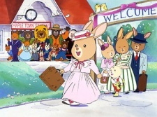 My very first anime would be punungkahoy ng mepl Town from 1986. I was only 1 or 3 years old. Oh, and sorry about the small pic, but there's not much else i can find. :P