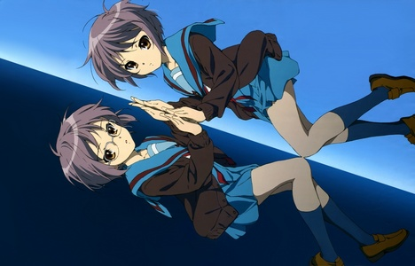 The Melancholy of Haruhi Suzumiya and my fave character is Yuki Nagato!