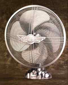I only have one fan, but it's winter now so I don't use it.